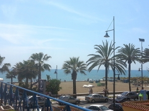 Torremolinos, Spain (Water temp 18deg/ Air temp 18deg!)