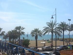 Torremolinos, Spain (Water temp 18deg/ Air temp 18deg!)
