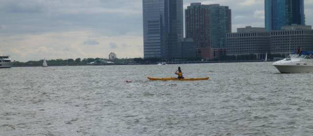 Thats Lisa - Swimming in the Hudson