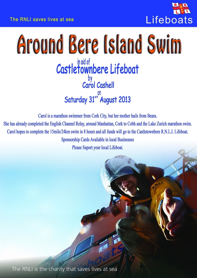 Castletownbere RNLI are all set to support in any they can - in return I will support them with donations.