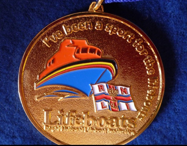 I was presented this by the Castletownbere Lifeboat station. I love it. We raised close to €800 for the RNLI. thanks everyone
