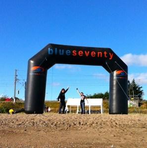 The Black Arch Finish at Greystones Beach