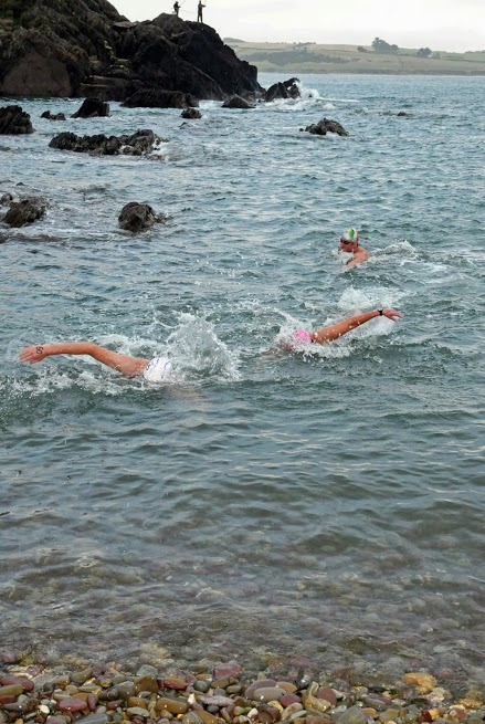 Sprint Finish.. my arms just wern't long enough!